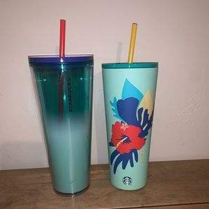 Starbucks Summer 2020 Tumbler NEW Collection Set
